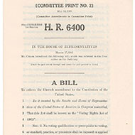 Historical Documents: Selma and the 1965 Voting Rights Act