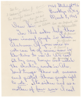 <em>Mrs. E. Jackson Letter to the House Judiciary Committee</em>