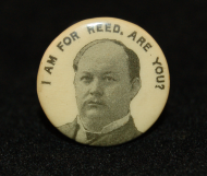 Thomas Brackett Reed Campaign Button