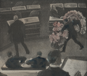 Glimpses of the Opening Days of Congress (detail)