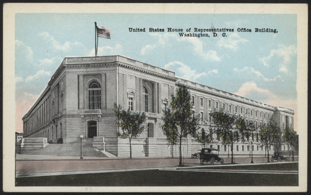 Cannon House Office Building Postcard
