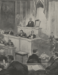 The Fifty-Third Congress - Speaker Crisp Calling the House to Order