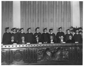 1944 Capitol Page School Graduation Ceremony
