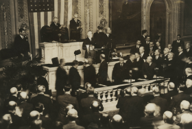 FDR Delivers His State of the Union Address in 1936