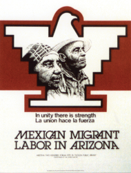 United Migrant Farm Worker Poster