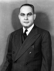 """Appointed by Governor William B. Leahy to serve the remainder of <a title=""""Santiago Iglesias"""" href=""""/People/Detail/15620?ret=True"""">Santiago Iglesias</a>'s term as Resident Commissioner, <a title=""""Bolivar Pagán"""" href=""""/People/Detail/19298?ret=True"""">Bolivar Pagán</a>, Iglesias's son-in-law, sought New Deal programs for Puerto Rico. Pagán also had a contentious relationship with appointed Governor Rexford Guy Tugwell for the remainder of his congressional career."""