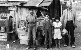 Mexican Immigrant Family