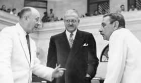 Antonio Fernós-Isern of Puerto Rico and Governor Luis Muñoz Marín