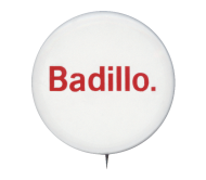 Campaign Button of Herman Badillo of New York