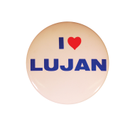 Manuel Luján, Jr., of New Mexico Campaign Button