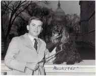 <em>George W. Andrews III with His Dog Bambo</em>