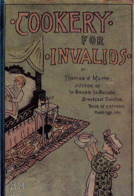 Cookery for Invalids
