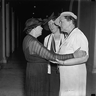 A Meeting Between Representatives Mary Norton and Caroline O'Day and Senator Hattie Caraway