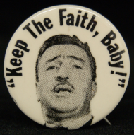 Campaign Button for Adam Clayton Powell, Jr. of New York