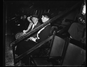 A frequent visitor to the House Gallery, Eleanor Roosevelt is pictured here in attendance for the opening of the 74th Congress.