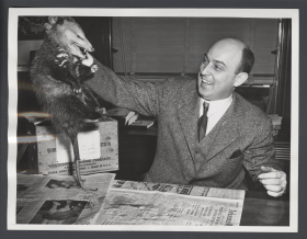 Clyde Ellis and possum