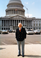 <em>Myles Garrigan at the Capitol, 1986</em>
