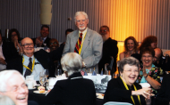 <em>Myles Garrigan at House Page Reunion, 2012</em>