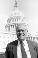 <em>Representative Dingell in Front of the Capitol</em>