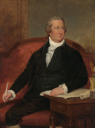 "<a title=""Frederick A.C. Muhlenberg"" href=""/Collection/Detail/29616?ret=True"">Frederick A.C. Muhlenberg</a> of Pennsylvania, First Speaker of the House, (1789–1791)"