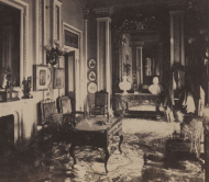 Detail of the Speaker's Room Stereoview