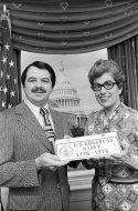 Congressional Staff Club License Plate, 1976