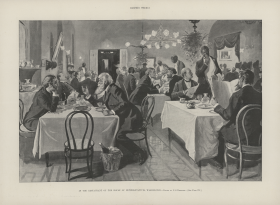 The House Restaurant has been around since 1857 and frequently became a source of gossip and curiosity.