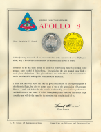 Apollo 8 Certificate