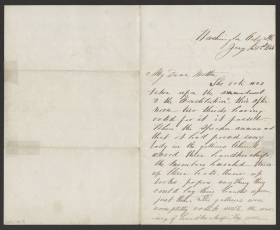 Letter from House Page Albert S. Pillsbury to Mother