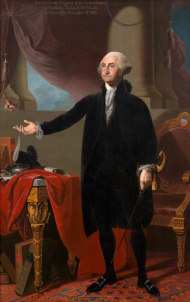 Portrait of George Washington, ca. 1805-1818
