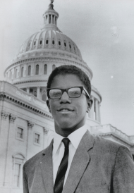 Photograph of Frank Mitchell, 1965