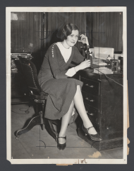 Margaret McMann Makes a Phone Call