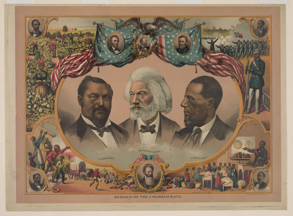 """Heroes of the Colored Race"""
