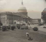 Stereoview of the U.S. Capitol in the 20th Century