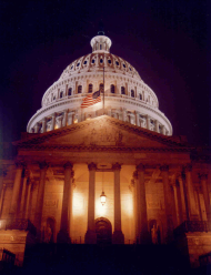 Seelmeyer was often stationed on the front steps of the U.S. Capitol.