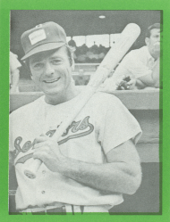 Here pictured in his 1972 Congressional Baseball card, Representative Bob Mathias was a lifelong athlete. He participated in the Summer Olympics in 1948 and 1952.