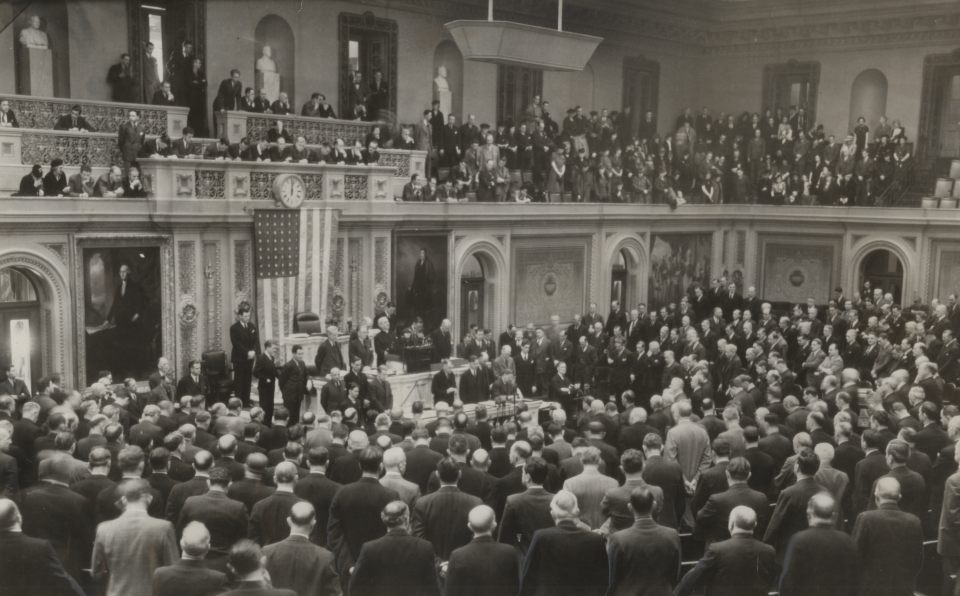 Photograph of the House Chamber, 1939