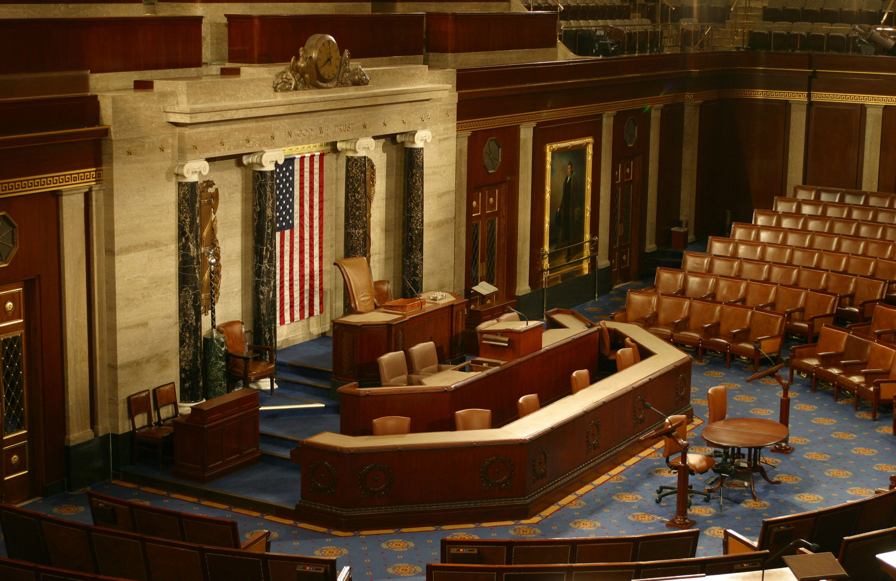 The House Chamber Rostrum