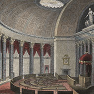 Old Hall of the House: 1819–1857