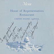 Capitol Dining in the 19th Century