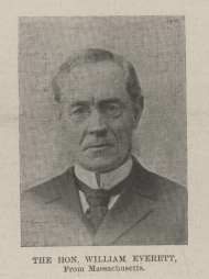 Representative William Everett served only one term as a Representative, but he brought his education in antiquities with him to the House.