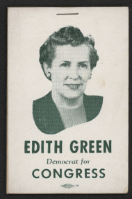 Edith Green Notepad