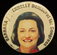 <i>Barbara Bailey Kennelly Lapel Pin</i>