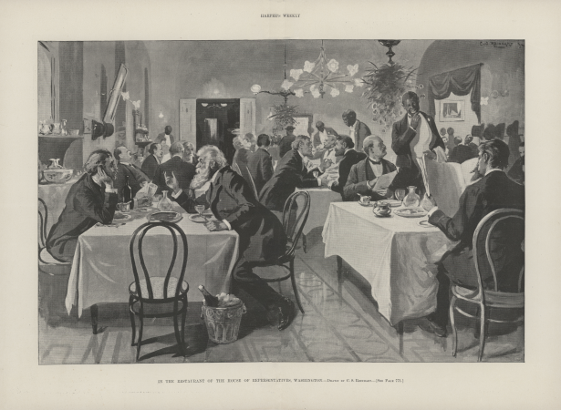 In the Restaurant of the House of Representatives, Washington