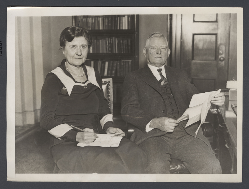 Rep. John Garner and Mrs. Ettie Garner