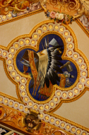 Native American Objects from Ceiling Mural