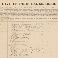 House Records: Primary Sources about Alcohol