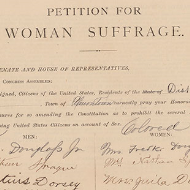 House Records: Primary Sources about Suffrage
