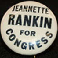 Jeannette Rankin Lapel Pin