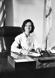 Claudine Schneider broke barriers as the first woman from Rhode Island elected to the House of Representatives, where she became famous for her environmental advocacy.